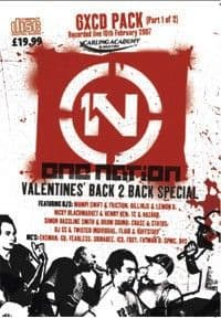 One Nation Valentines 2007 Part 1 CD Pack