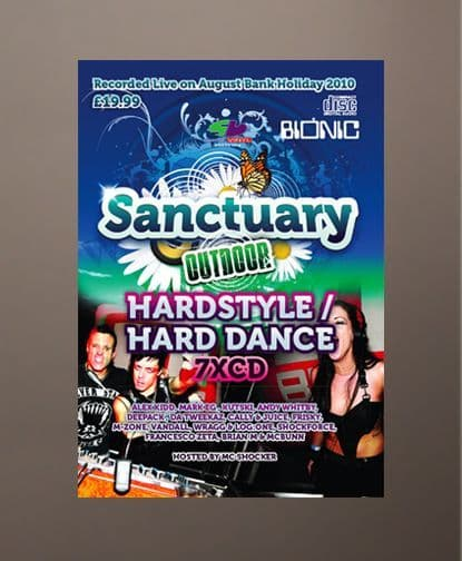 Sanctuary 2010 - Hardstyle 7 CD Pack