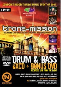 Tranzmission 2007 Drum and Bass CD Pack