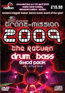 Tranzmission 2009 Drum and Bass CD Pack