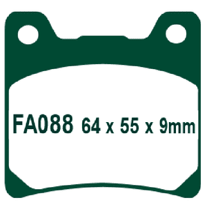 FA88, EBC, MOTORCYCLE BRAKE PADS