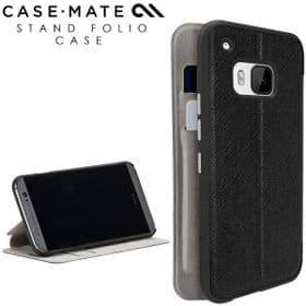 Case-Mate HTC One M9 Stand Folio Case | Black