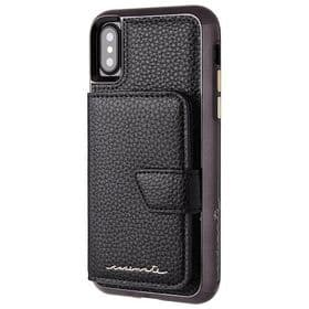 CaseMate iPhone X / XS Compact Mirror Case | Black