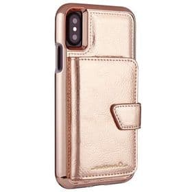 CaseMate iPhone X / XS Compact Mirror Case | Rose Gold