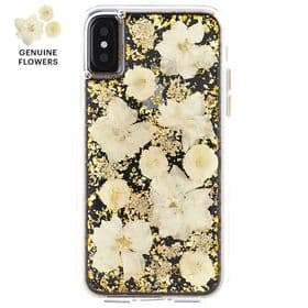 CaseMate iPhone X / XS Karat Petals Case | Antique White