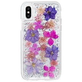 CaseMate iPhone X / XS Karat Petals Case | Purple