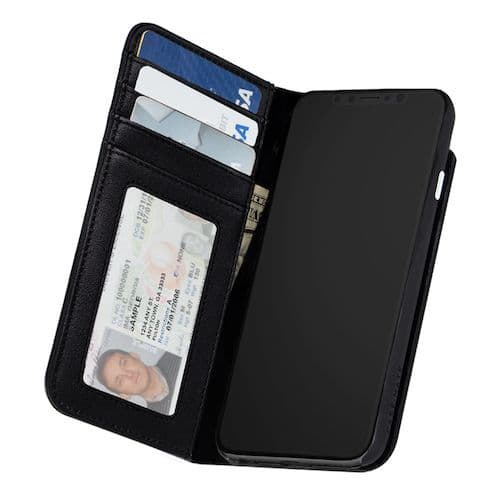 iPhone X Genuine Leather Wallet Case   Buytec