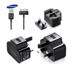 Genuine Samsung Galaxy Note / Note 10.1 Mains Charger | Black