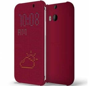 HTC One M8 Dot View Case | Purple