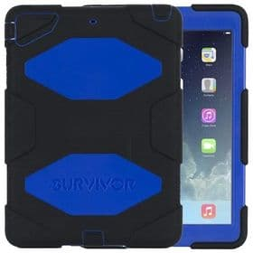 iPad Mini 1 2 3 Griffin Survivor All-Terrain Case | Blue Black