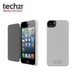iPhone 5 / 5S / SE Tech21 T21-1819 Impact Snap Cover Case with D3O | White