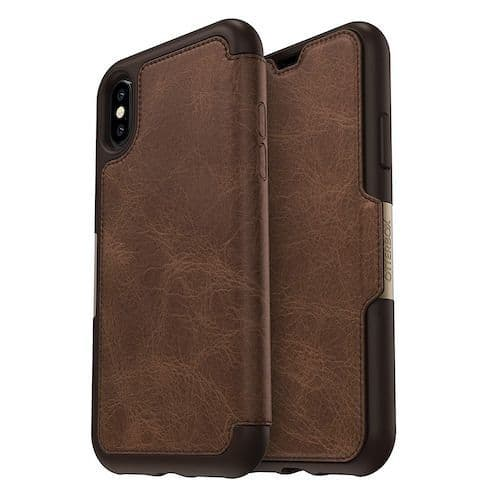 iPhone X XS OtterBox Strada Leather Case Cover | Buytec