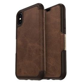 iPhone X / XS Otterbox Strada Leather  Case Cover | Brown