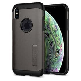 iPhone Xs / X Spigen Slim Armor Case | Gunmetal