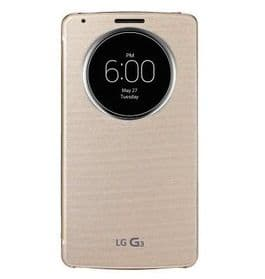 LG G3 Quick Circle Case Case | Gold