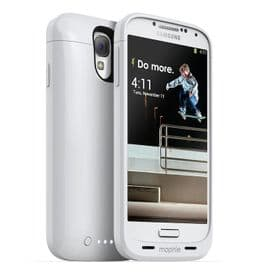 Mophie Juice Pack Samsung Galaxy S4 Case | White