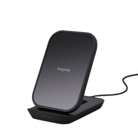 Mophie Universal Wireless Charging Stand for iPhone & AirPods | Black