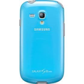Samsung Galaxy S3 Mini i8190 Protective Cover | Light Blue/Grey