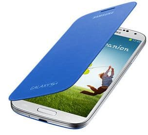 Samsung Galaxy S4 Genuine Flip Cover | Light Blue