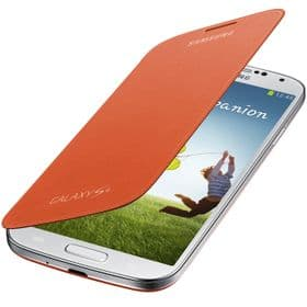 Samsung Galaxy S4 Genuine Flip Cover | Orange