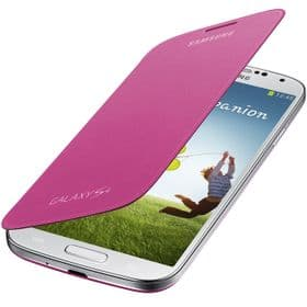 Samsung Galaxy S4 Genuine Flip Cover | Pink