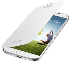 Samsung Galaxy S4 Genuine Flip Cover | White