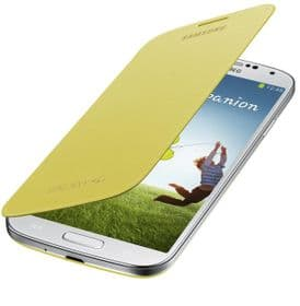 Samsung Galaxy S4 Genuine Flip Cover | Yellow