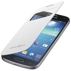 Samsung Galaxy S4 Mini S View Genuine Premium Cover | White