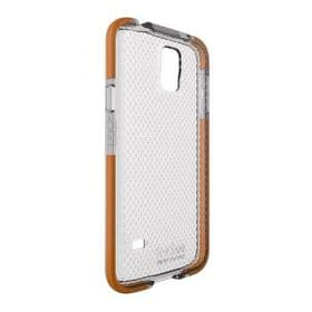 Samsung Galaxy S5 Tech21 T21-4009 Impact Mesh Case with D3O | Clear