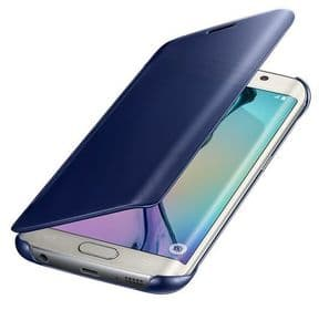 Samsung Galaxy S6 Clear View Cover Case | Black