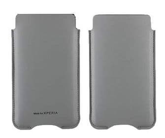 Sony Xperia Z Roxfit Custom Pouch Case | Grey