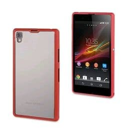 Sony Xperia Z1 Roxfit Gel Shell Case | Monza Red
