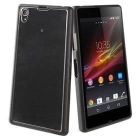 Sony Xperia Z1 Roxfit Gel Shell Case | Nero Black