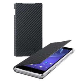 Sony Xperia Z2 Roxfit Book Case | Carbon Black