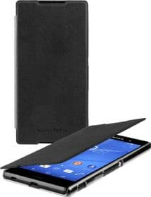 Sony Xperia Z3+ Ultra Slim Book Case | Black
