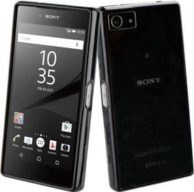 Sony Xperia Z5 Compact Roxfit Gel Shell Slim Case | Black