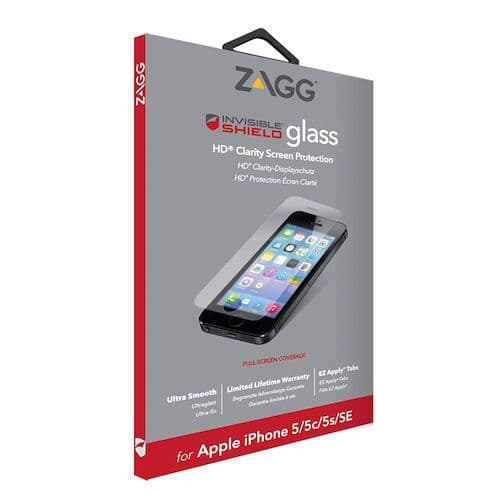 Zagg iPhone 5 Tempered Glass | Buytec