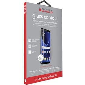 Zagg Samsung Galaxy S8 InvisibleShield Glass Contour Protector Full-Screen