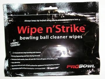 Pro Bowl Wipe and Strike Ball Wipes