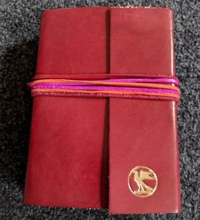 Paper High Leather Journal