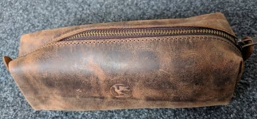 Paper High Leather Pencil Case