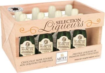 Abtey French Champagne Chocolate Liqueurs Crate 12's