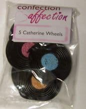 Bassetts Liquorice Catherine Wheels 5 pack