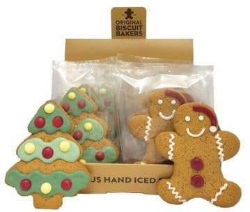 Biscuit Bakers Gingerbread Christmas Tree 40g