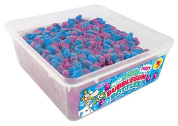 Candy Factory Mini Bubblegum Bottles Tub Of 800 (HALAL)