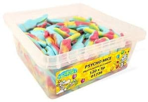 Candy Factory Psycho Mice Tub Of 120