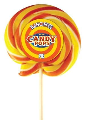 Candy Pops Banoffee Swirly Lolly 4