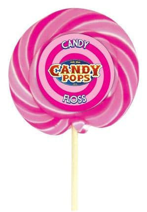 Candy Pops Candy Floss Swirly Lolly 4