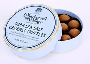 Charbonnel Et Walker Dark Sea Salt Caramel Truffles 120g