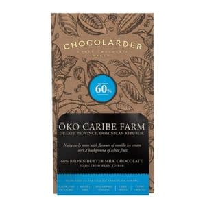 Chocolarder 60% Oko Caribe Farm Milk Chocolate